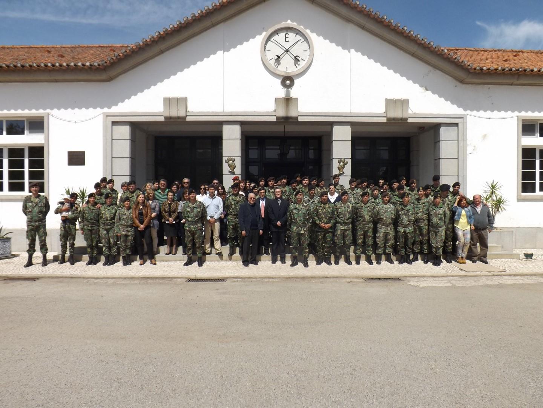 Em Abrantes_Visita Pastoral de Dom Manuel Linda ao Regimento de Apoio Militar de Emergencia