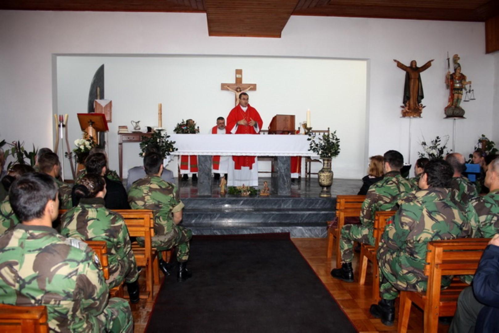 Em Espinho_Visita Pastoral ao Regimento de Engenharia