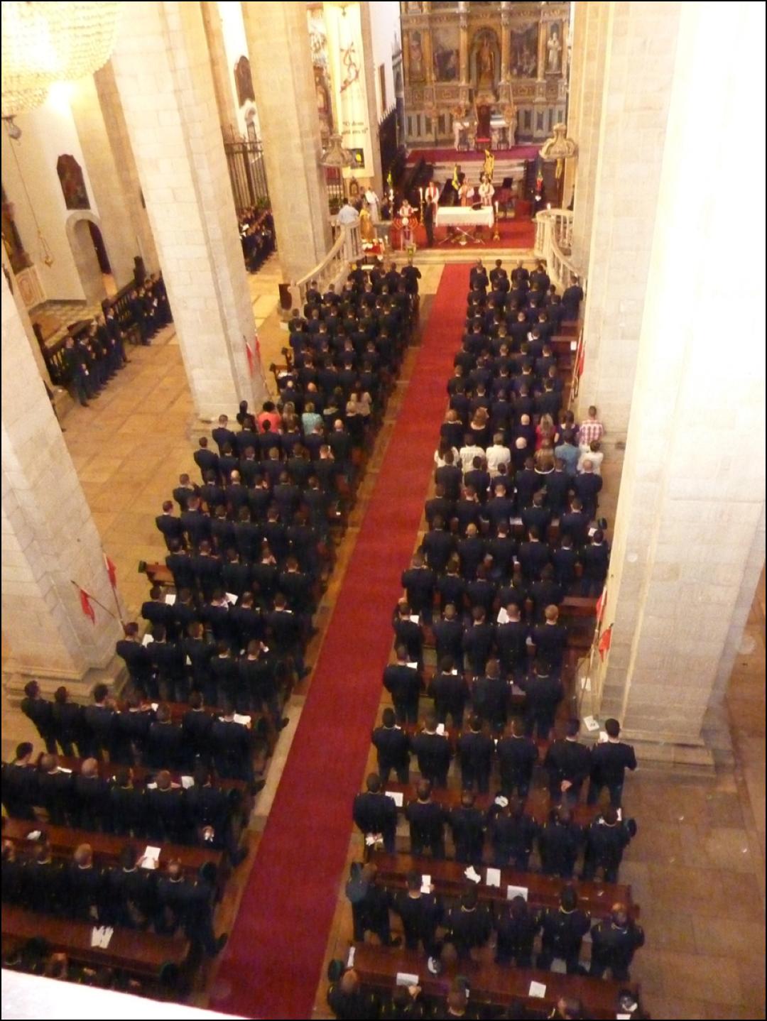 GNR na Se Catedral de Portalegre_Missa de Acao de Gracas do 35 Curso de Formacao