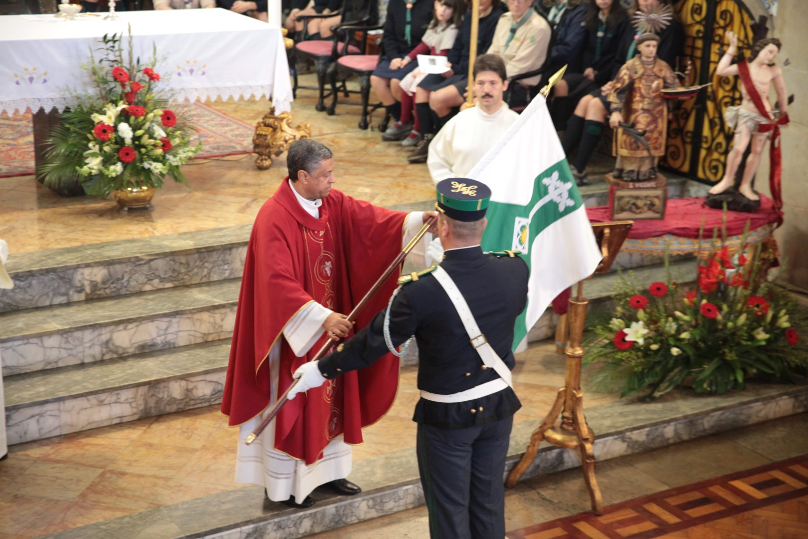 GNR_Missa do dia do Comando Territorial de Faro 2015