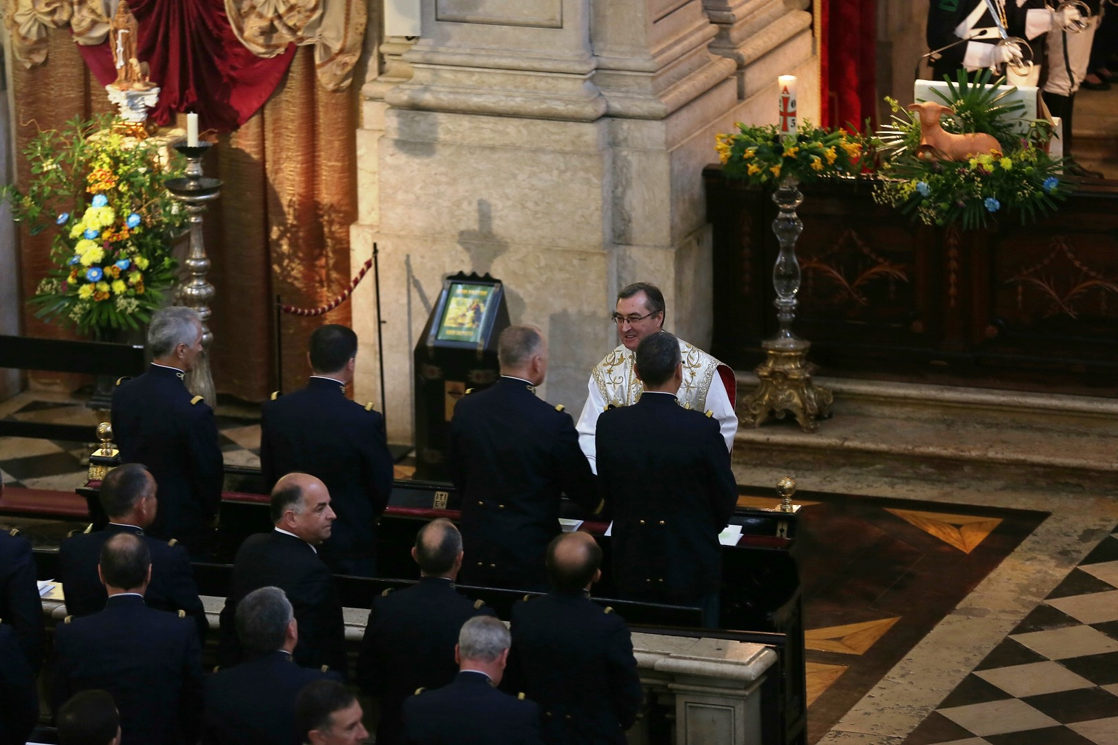 GNR_Missa na Basílica dos Mártires_Lisboa_29ABR15_1