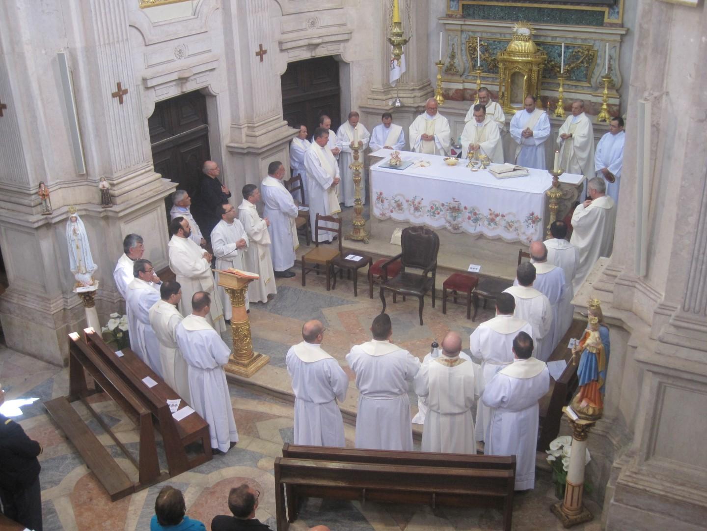 Na Igreja da Memoria_Lisboa_Missa Crismal