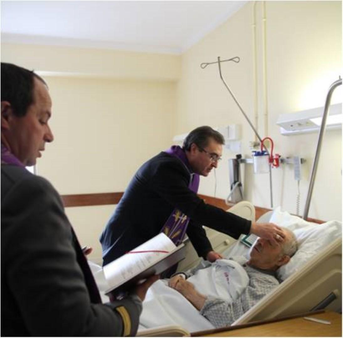 No dia do Doente_Santa Uncao no Hospital Militar