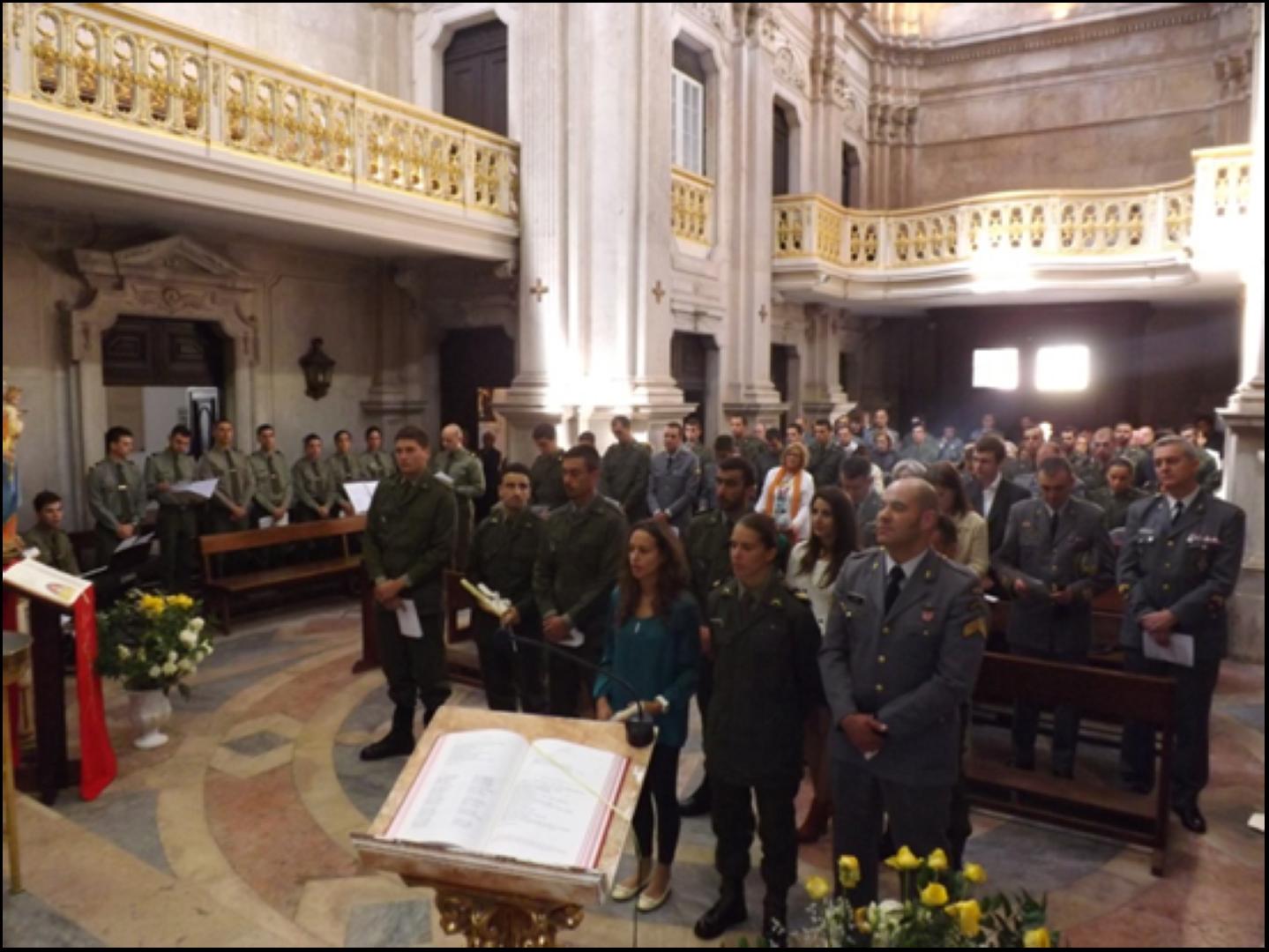 Sacramentos da Iniciacao Crista_Regimento de Artilharia Anti Aerea nº 1_Queluz