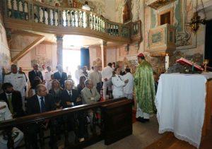 Reabertura da capela de São Roque